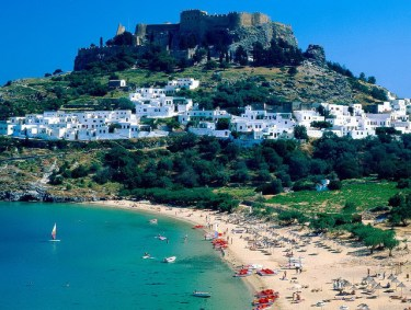 The famous Lindos carries thousands of years of history and is about 50 km south of the city of Rhodes. Romance and ancient culture is everywhere here.